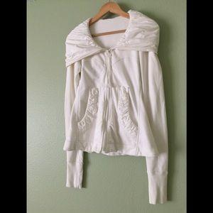 PRAIRIE UNDERGROUND | Cloak Hoodie in Winter White